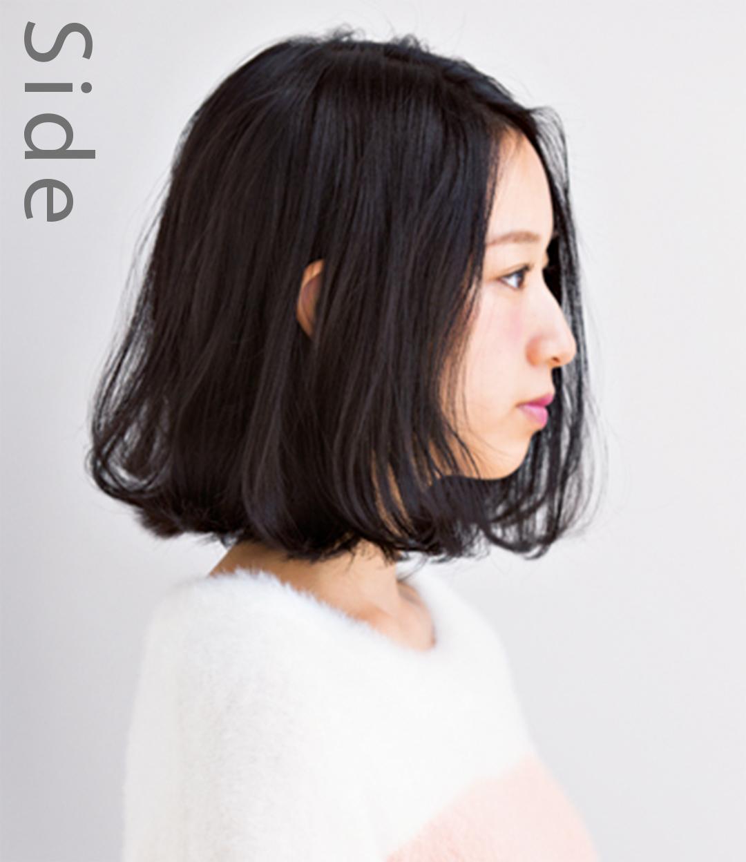 就活中、黒髪でも普段はおしゃれしたい人のために♡ 長さ別黒髪ヘアカタログ_1_6-1