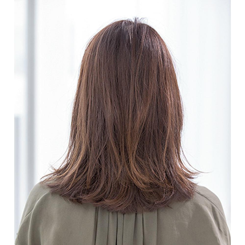 後ろから見た 人気ヘアスタイル9位の髪型