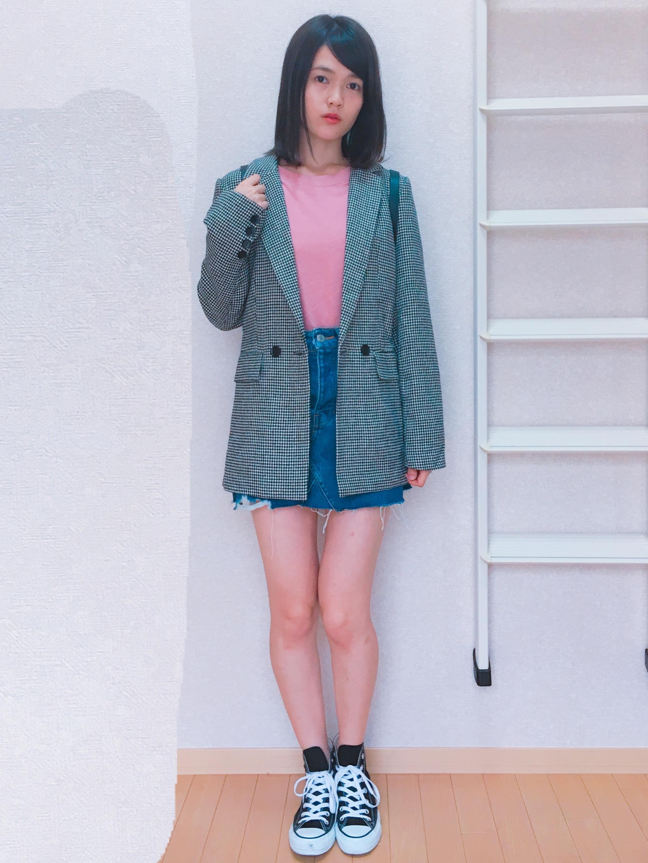 ^o^第36回【服はほぼプチプラ】ジャケットを使ったコーデ3選〜!_1_4