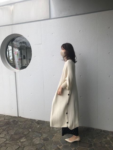 【華ボトム】ニット×柄パンツ_1_4