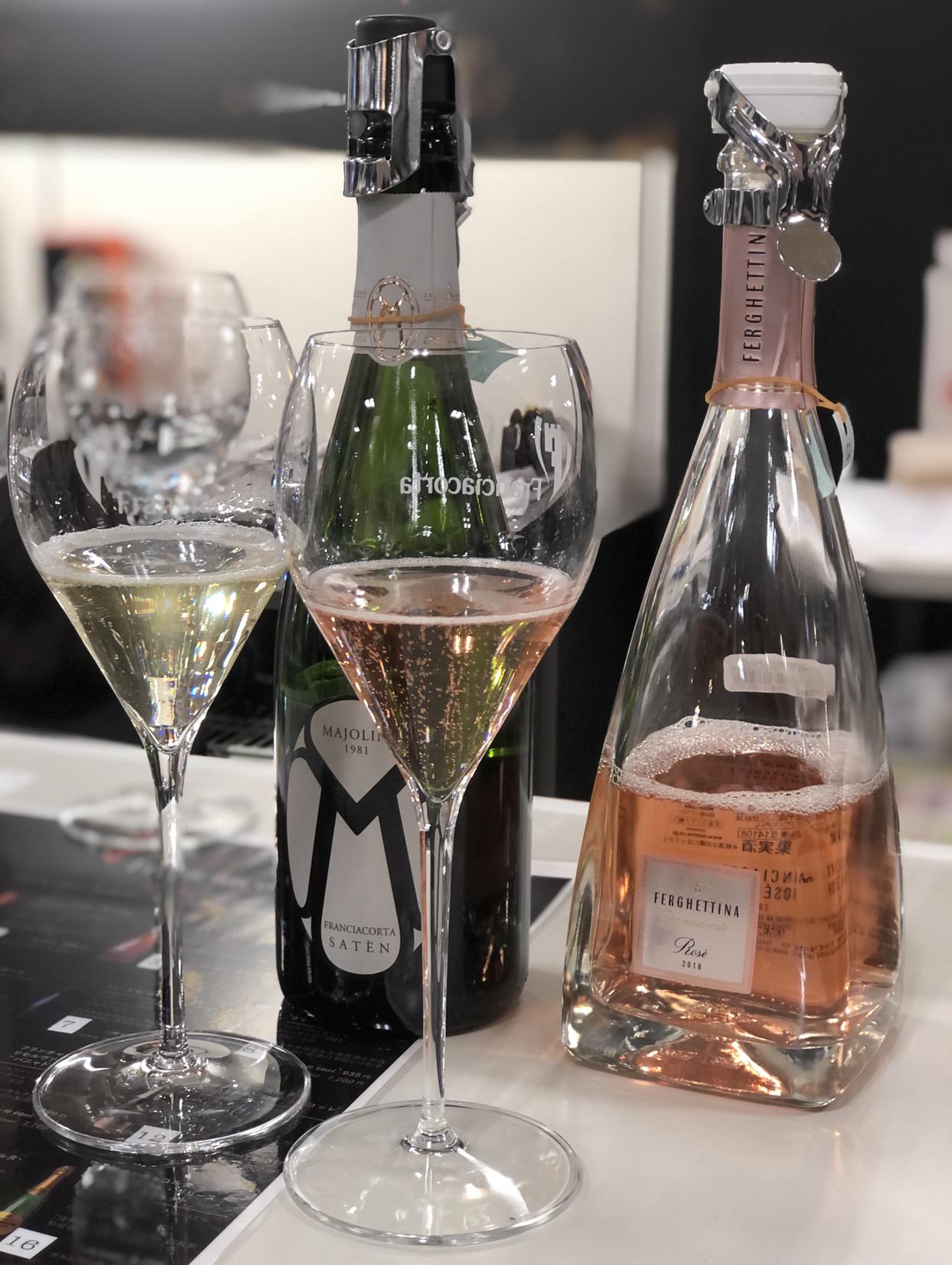お気に入りワンピースを着て『世界を旅するワイン展2021』へ_1_2-3