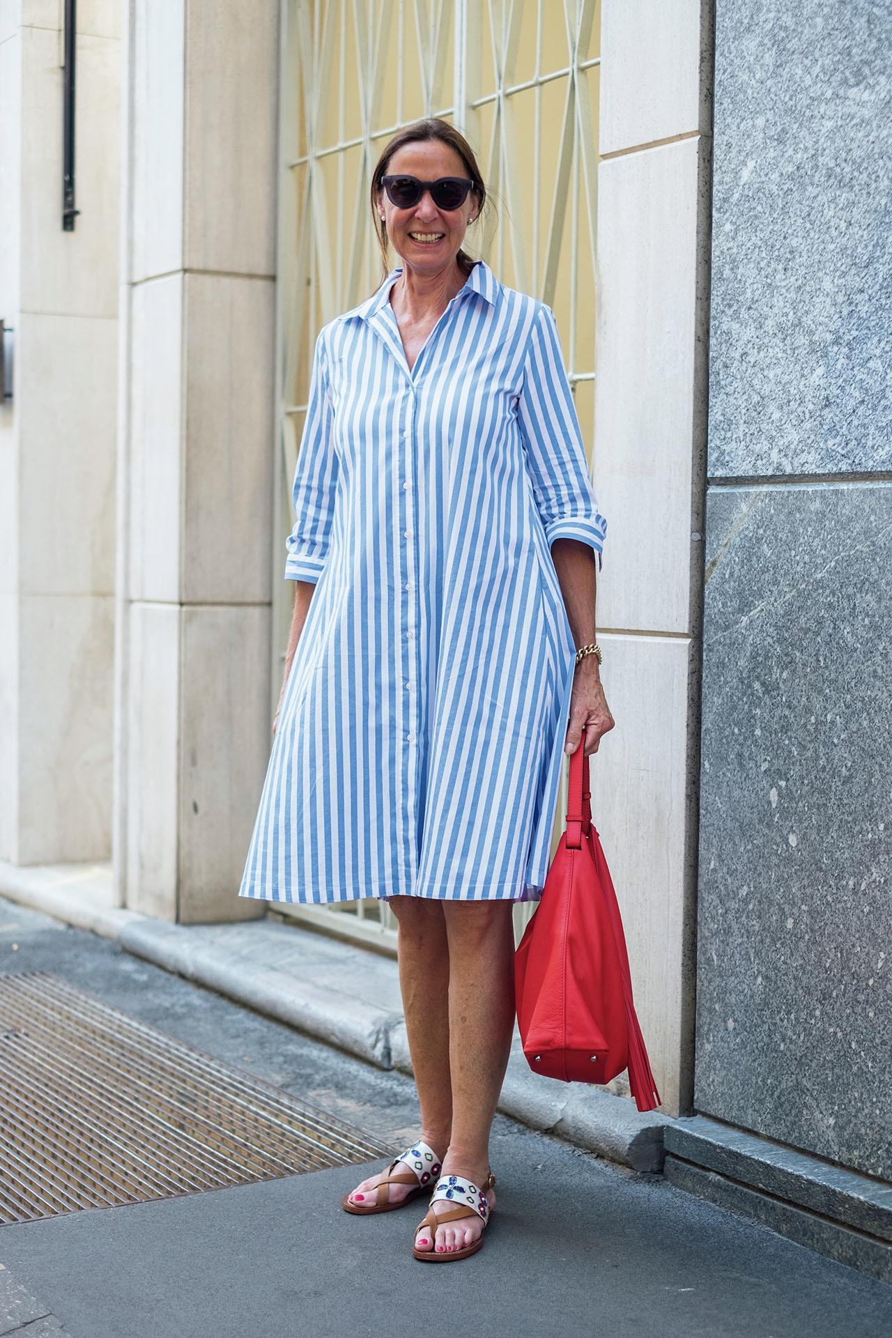 新感覚のおしゃれを楽しむ、ミラネーゼの夏ファッションスナップ 五選_1_1-5