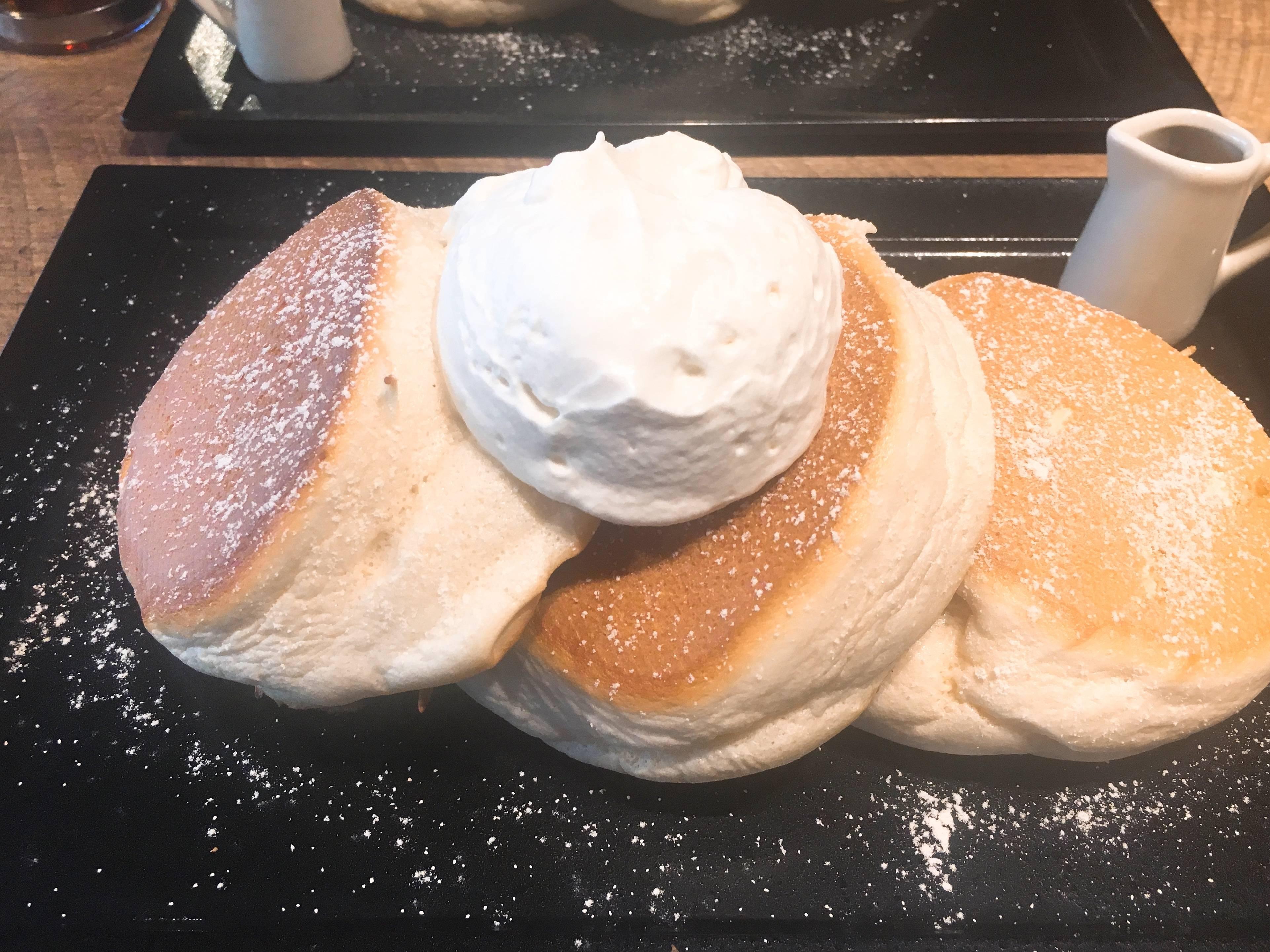 とろける米粉のパンケーキ【裏参道】堪らない♡もちふわ_1_4