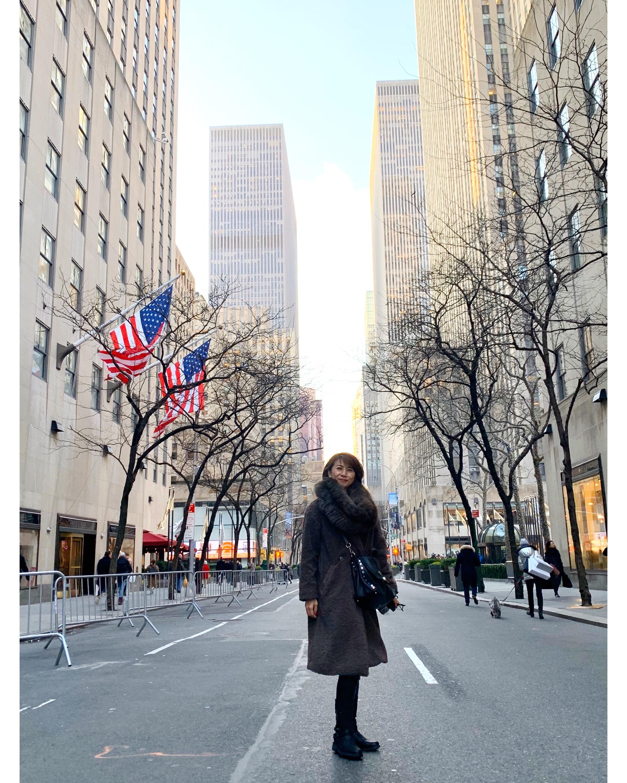 ZARAのボアコートでニューヨークの旅へ_1_2
