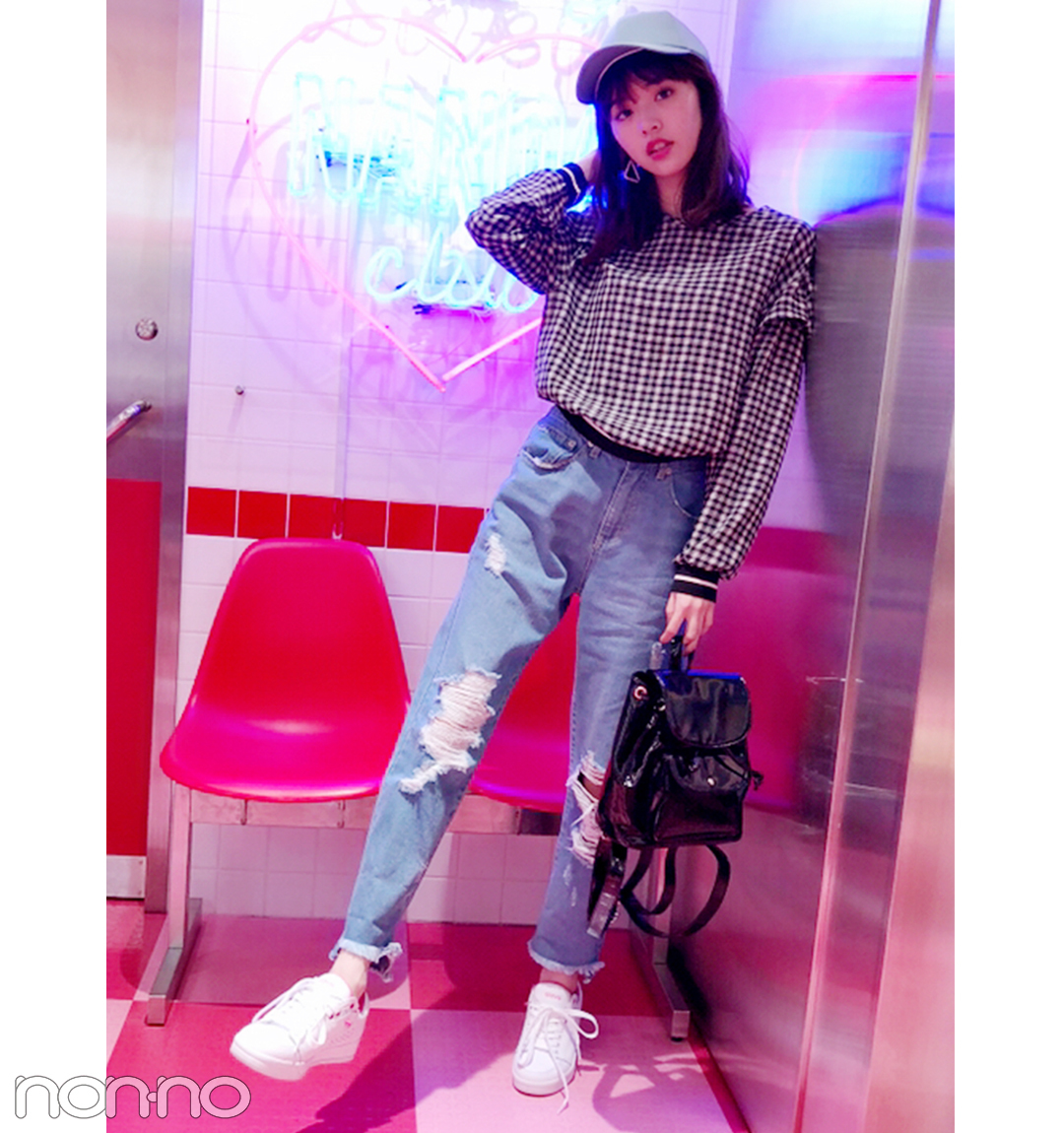 鈴木優華の韓国っぽプチプラ女子旅スタイル【毎日コーデ】_1_1