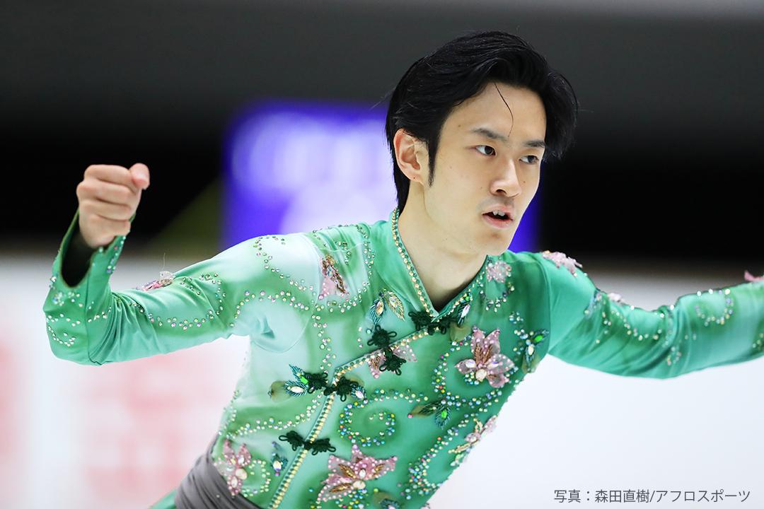 2020-2021年シーズンのフリースケーティング「ドラゴン」を披露する山本草太選手(Sota Yamamotoo)