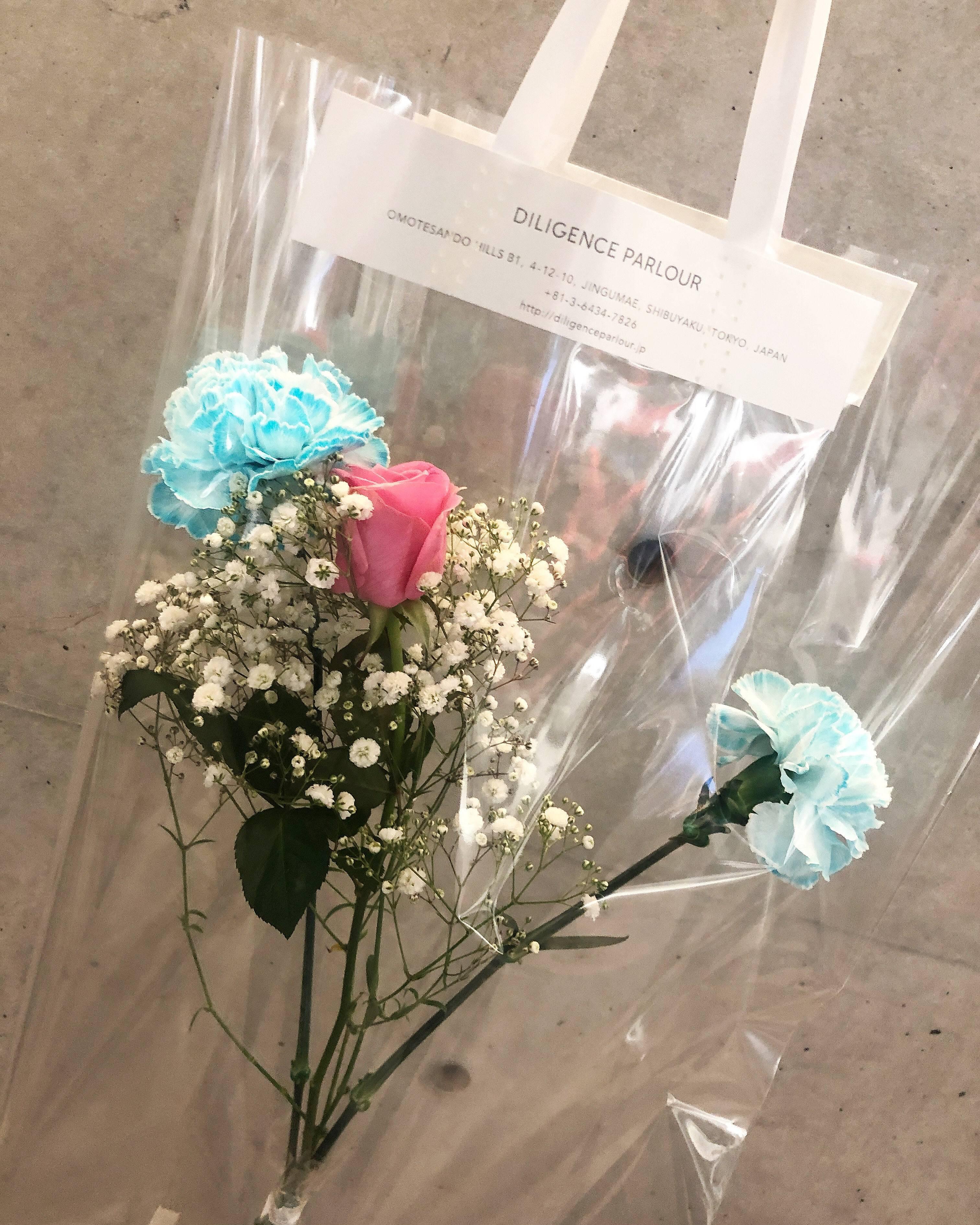 Vol.79♡ クリアバッグがおしゃれ!表参道にある花屋【DILIGENCE PARLOUR】_1_2