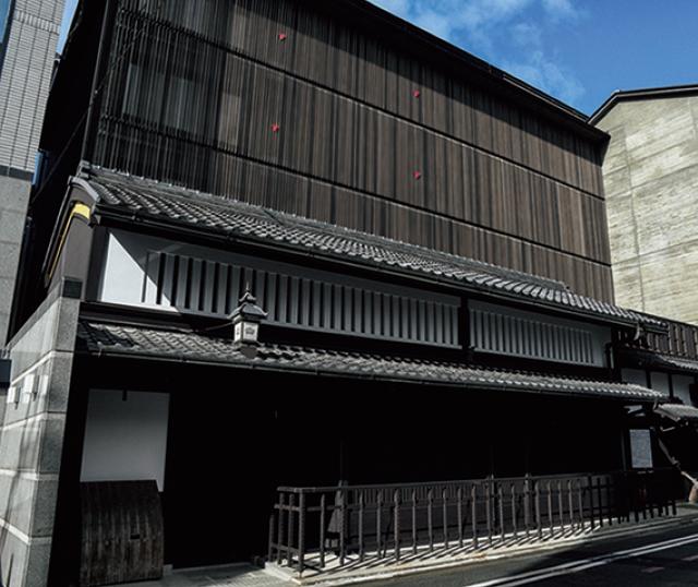 室町通り沿いの京町家を大規模に復元・改築