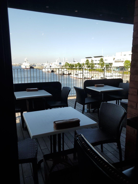 カフェからみる外の風景