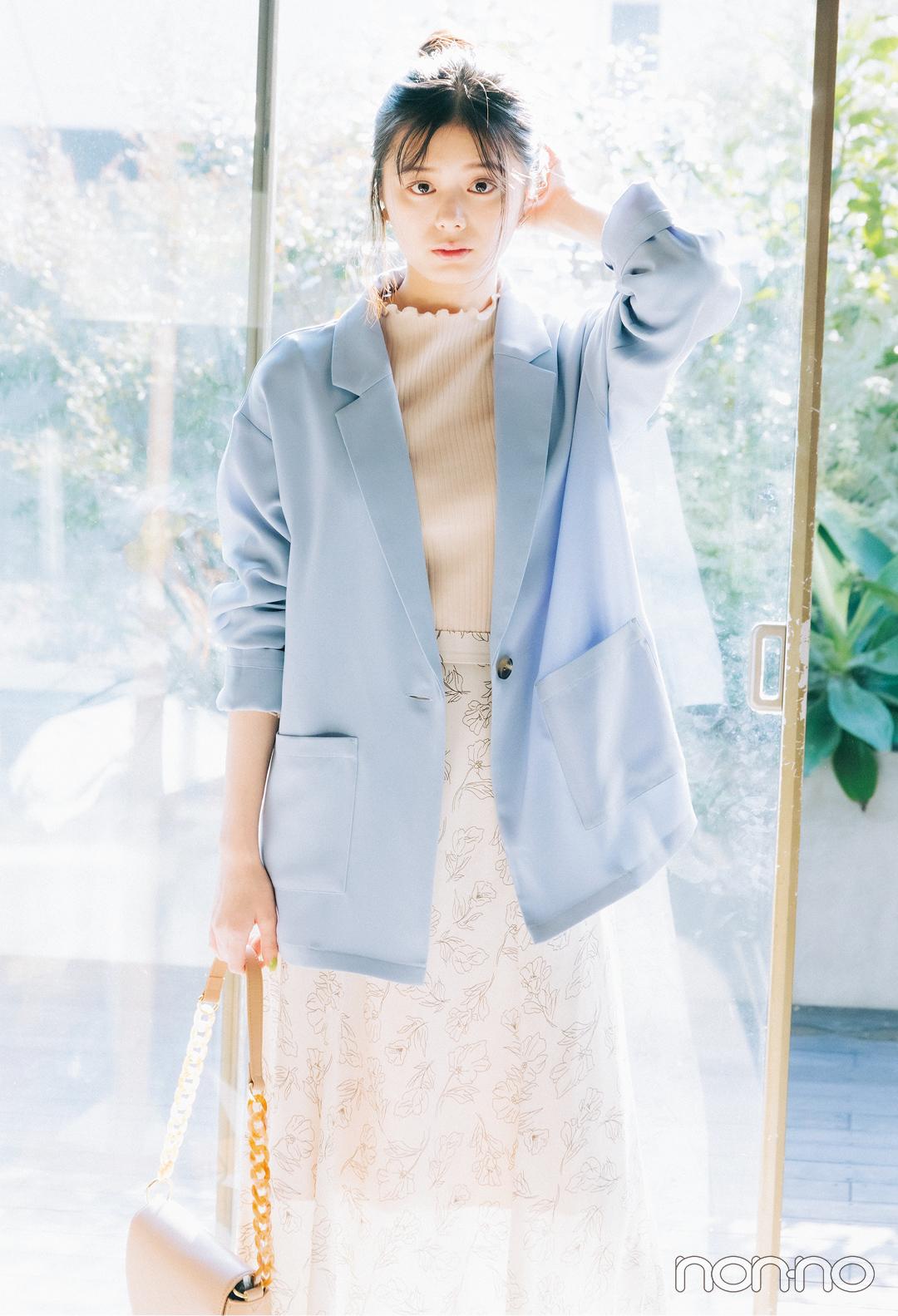 【GU春新作】女っぽさ高めるパステルカラーアイテムはコレ! _1_5