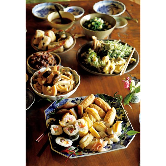 地元の総菜を使った料理