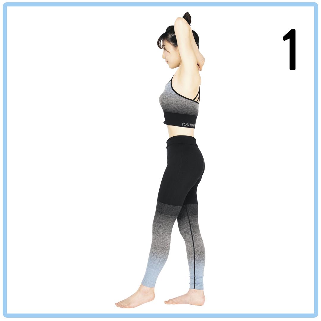 腹筋女子の2週間プログラム★1日5秒の筋トレでくびれ&タテ線をGET!_1_7-1