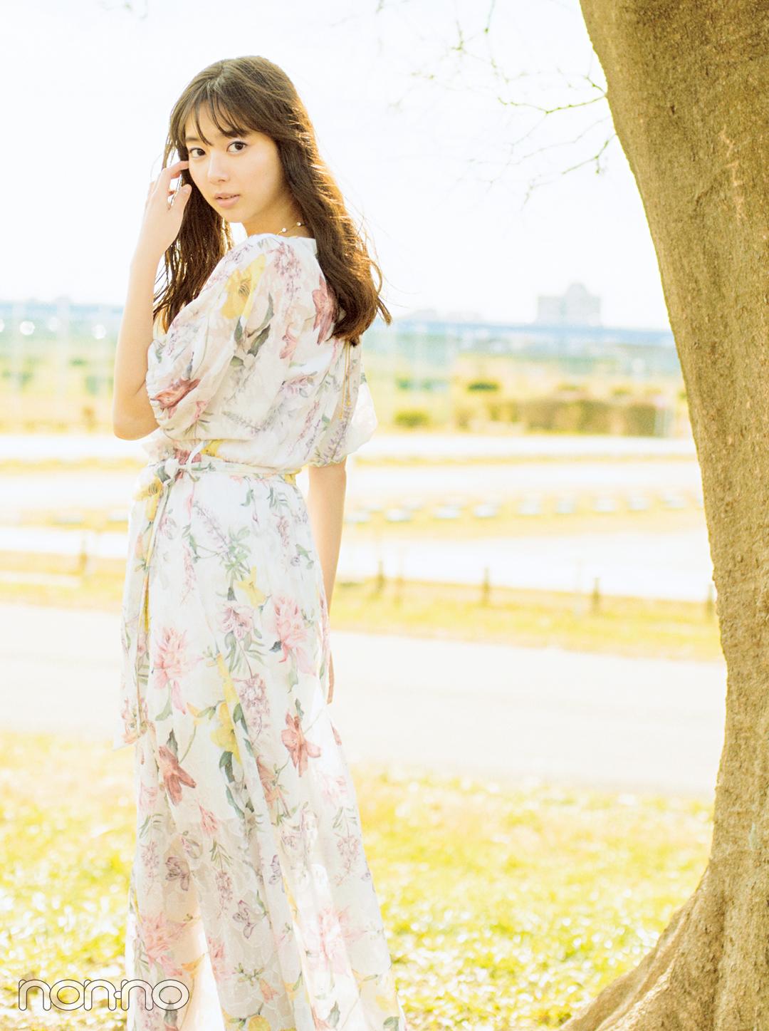 新川優愛の揺れるワンピースが天使すぎ♡ 春の新作ワンピもチェック!_1_1
