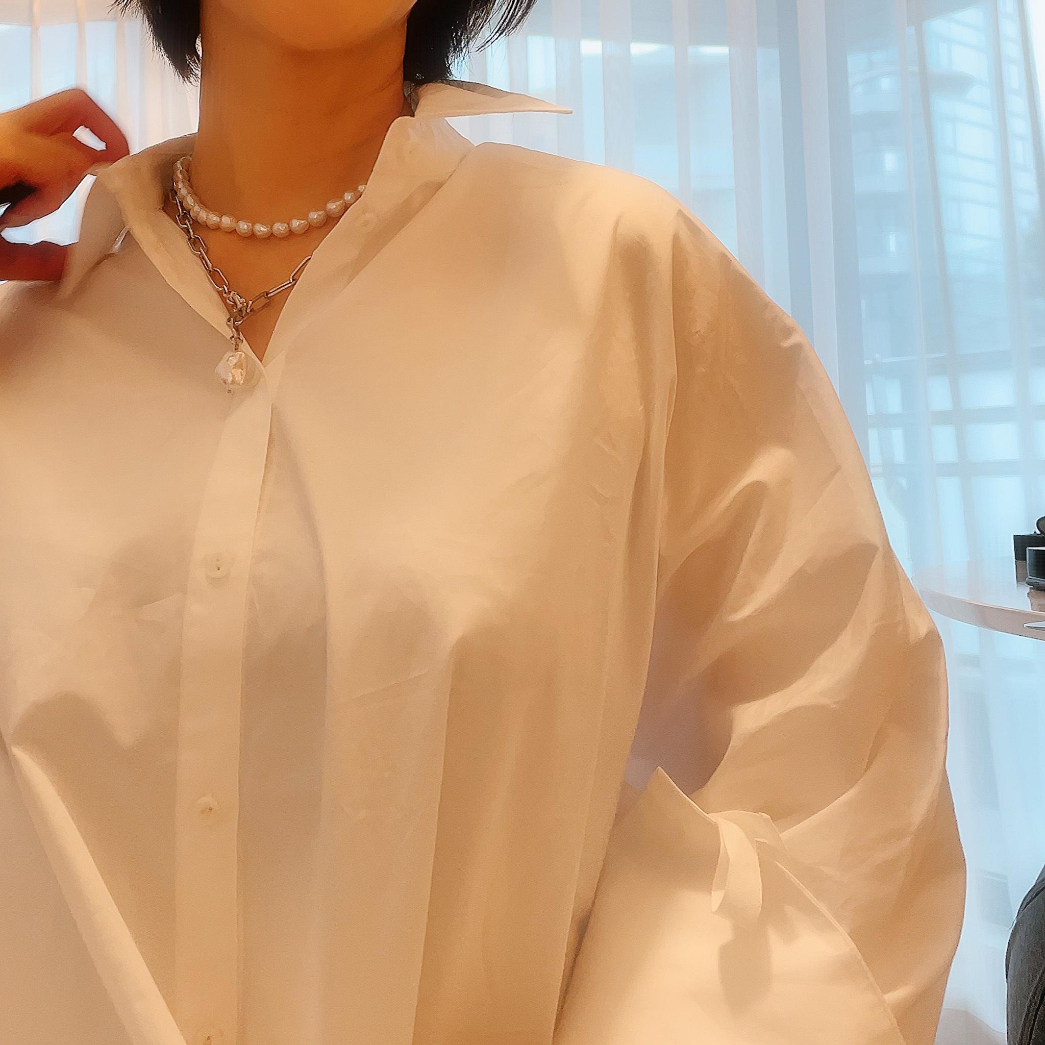今季一押し!ホワイトシャツ発見_1_3