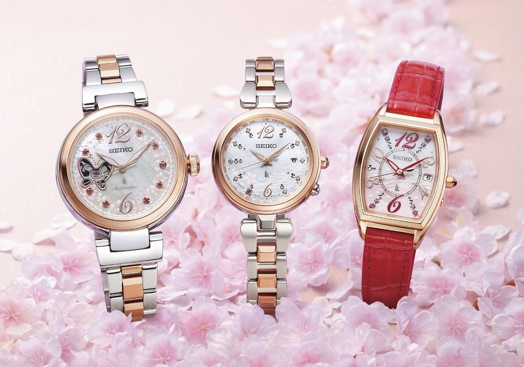 新生活に必要なのは、大人可愛い腕時計♡ セイコーの桜モデル10種類が限定で登場!_1_1