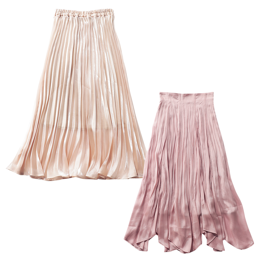 大学生が買ってよかったもの2021マキシ丈プリーツスカート