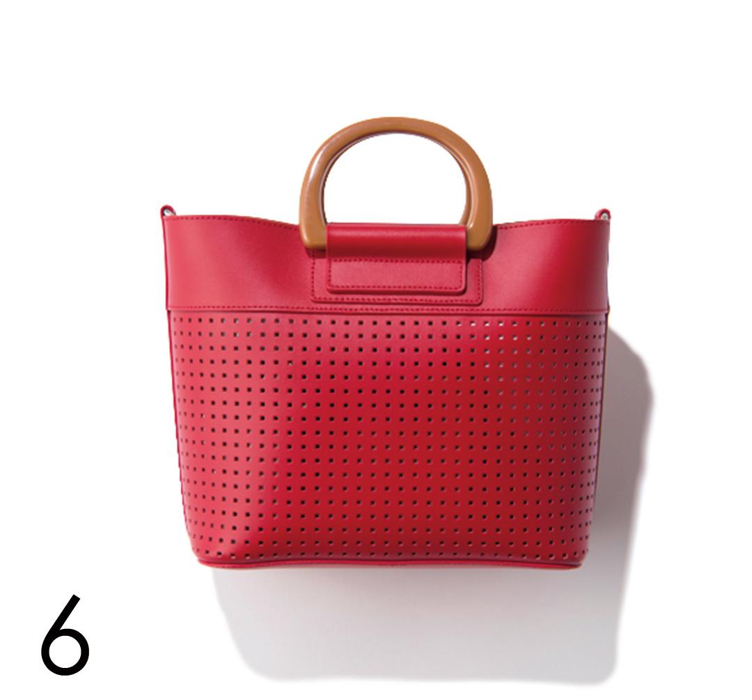 さりげないのに好印象♡ バッグで赤を取り入れる!_1_4-6