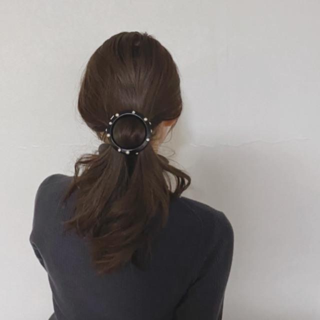 この上なくモダンなヘアアクセサリー #40代のロングヘア_1_4-1