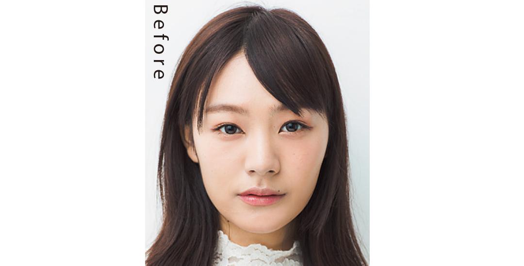 アシメ前髪でカモフラージュ♡ 面長さんのコンプ解消小顔ヘア_1_1