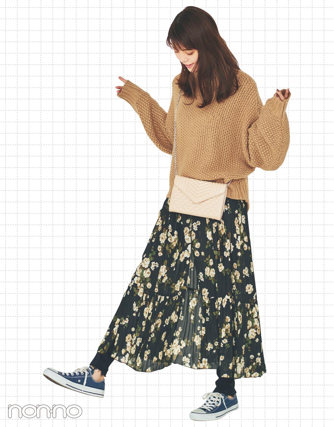 真冬は揺れスカートの足元が寒い…おしゃれに解決するテクを伝授!_1_2-2