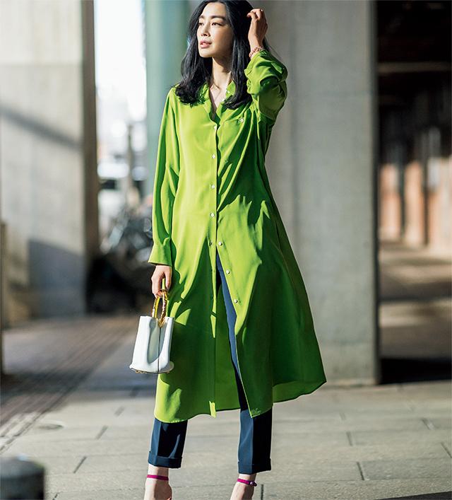 【Shirt style 01】たゆたう様も、美しい色も。この美しさは贅沢なシルクだから