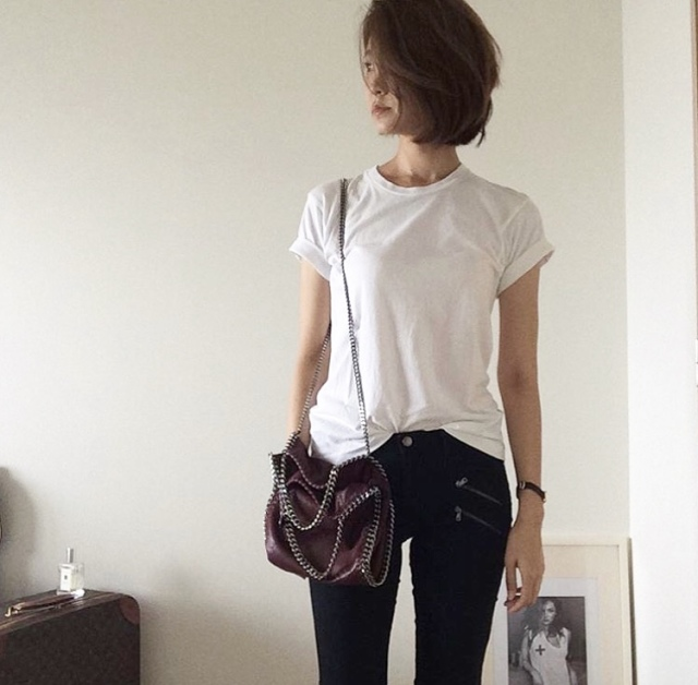 リピートアイテム コスパ抜群の白Tシャツ【40代 私のクローゼット】_1_4-1
