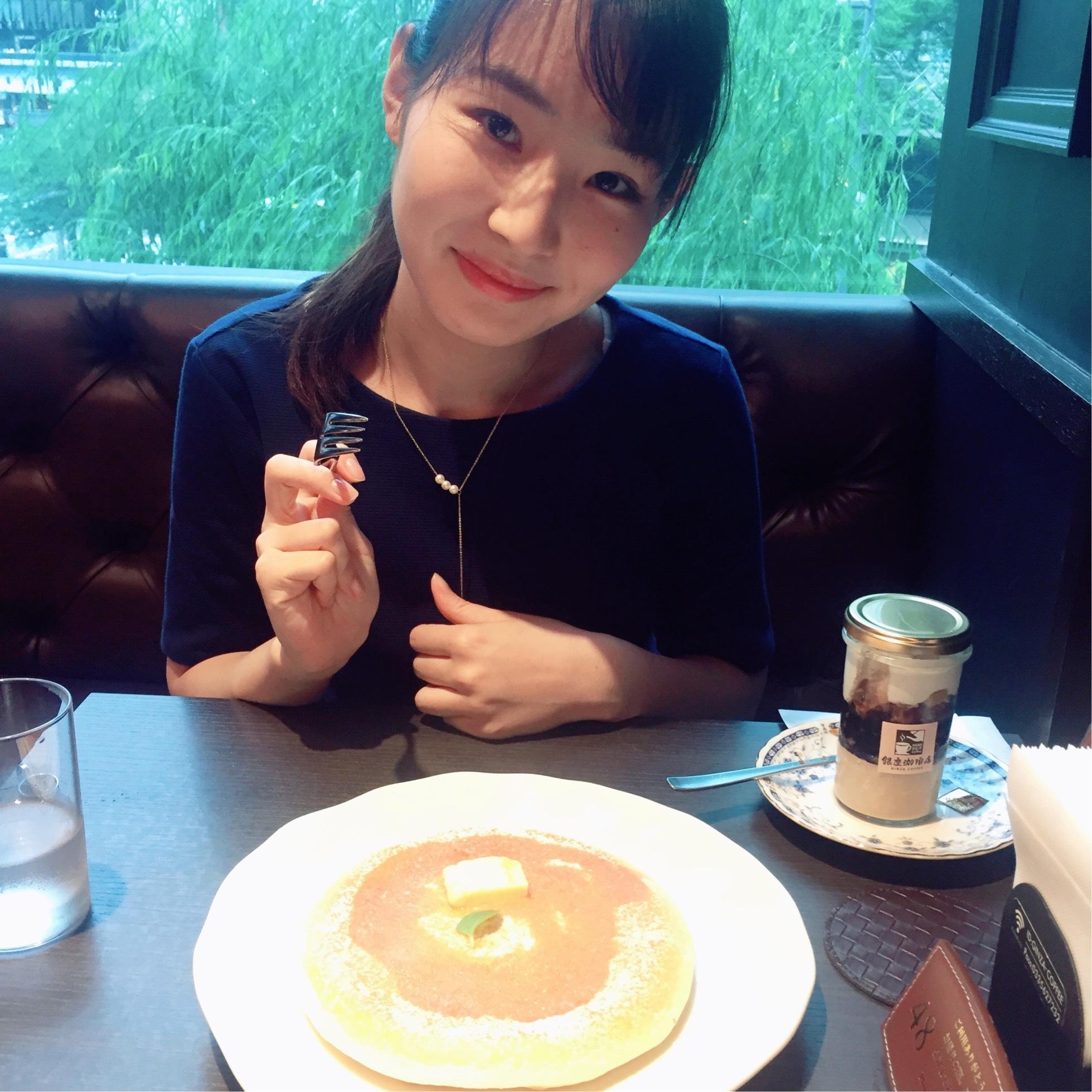 銀座の昔ながらの喫茶店♪【パンケーキ】_1_1-1