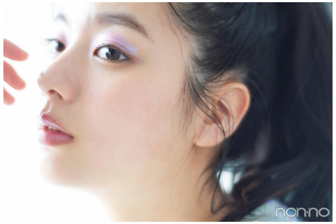 【新川優愛】キラキラ、マーメイドみたいなアイシャドウ