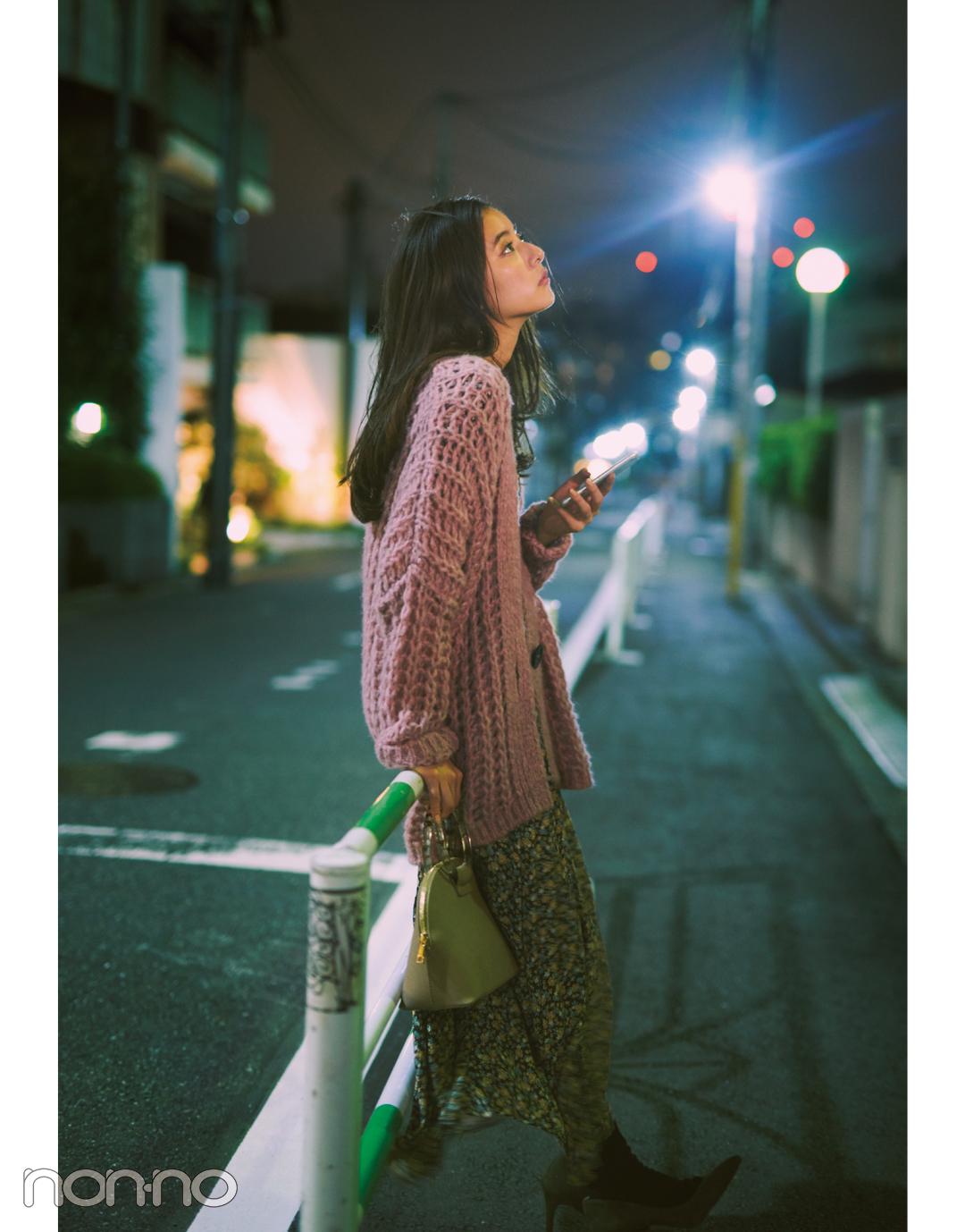 新木優子の恋とニットの物語♡ 「君」は先輩からの告白を受ける?【ニットを着るなら、エモいほう。vol.5】_1_6