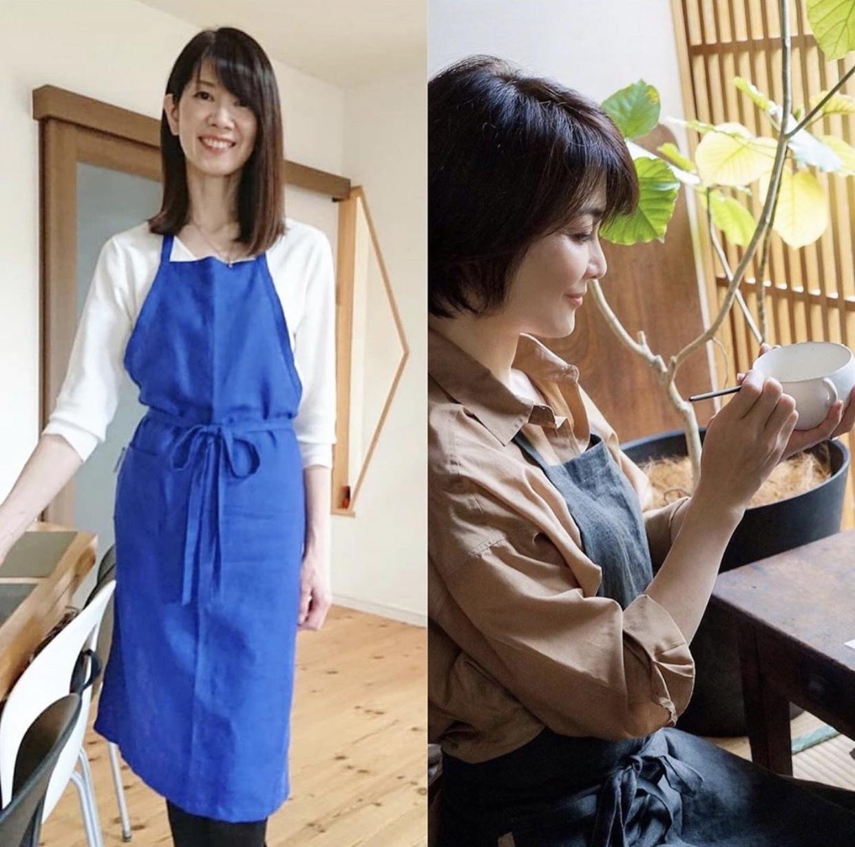 服を纏うようにエプロンを 〜秋の手仕事②_1_3-4