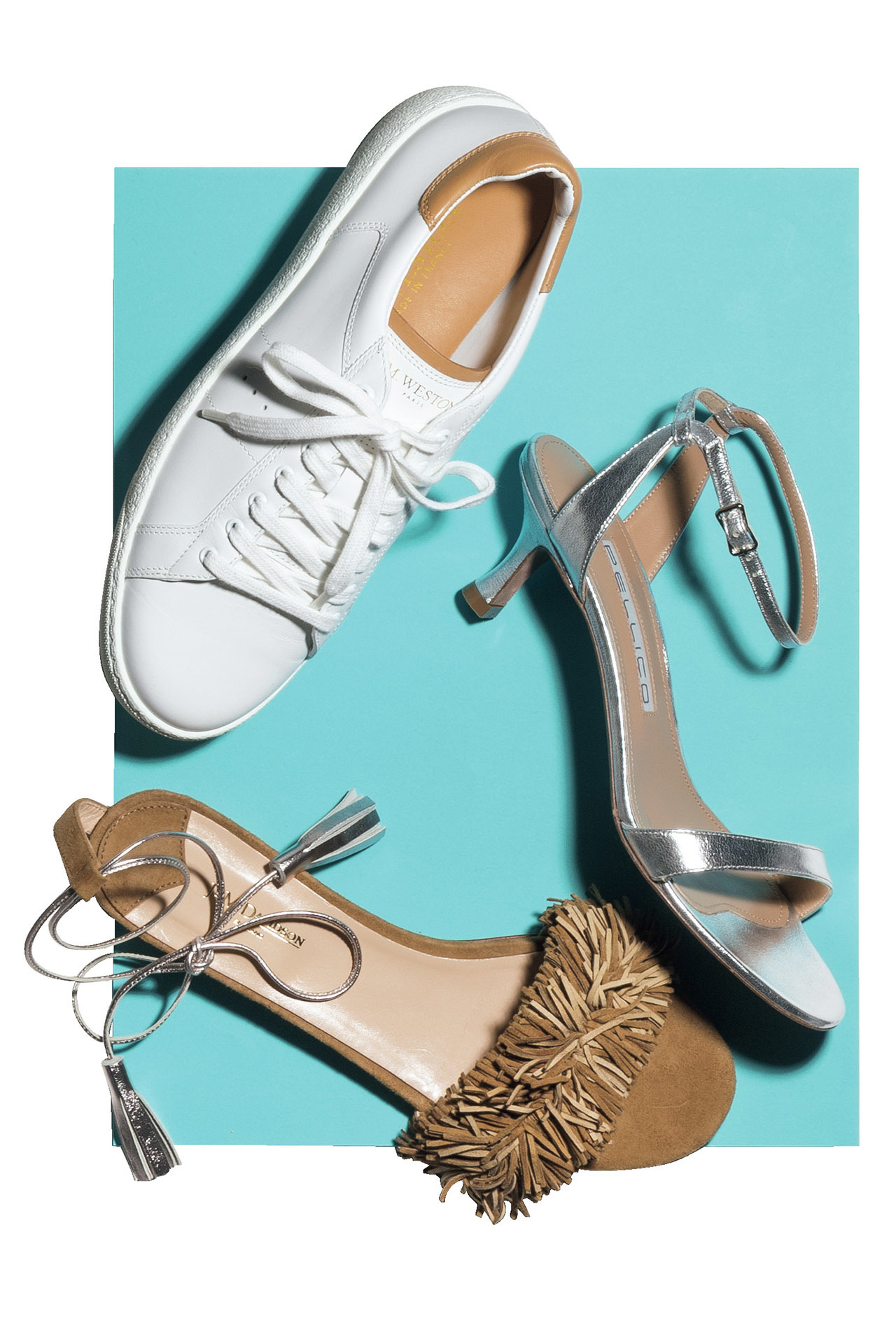 エクラ世代の初夏の足元、ちょっと甘めテイストに合うのはこんな靴! 五選_1_1-3