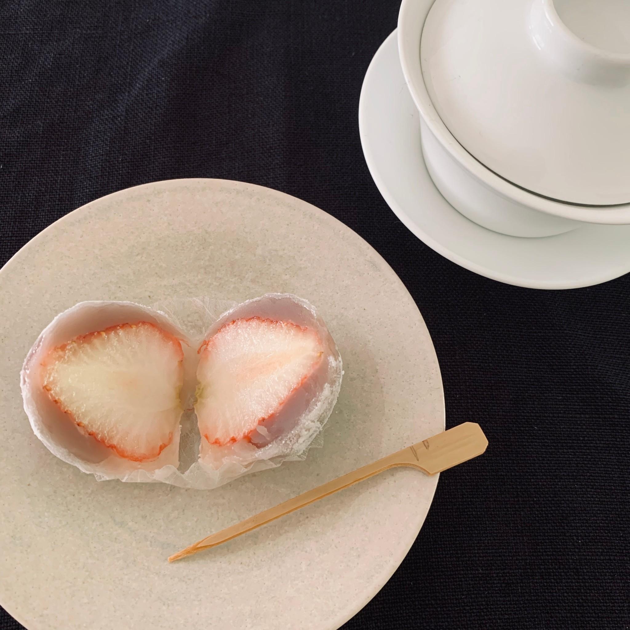 旬を味わう『夏の苺大福』♪_1_3-1