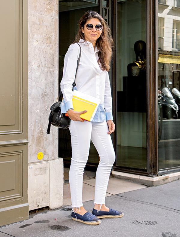 全身「白」をカジュアルスタイルに取り入れる【ファッションSNAP ミラノ・パリ編】_1_1-2
