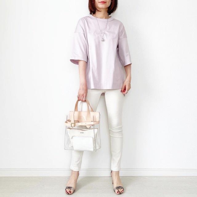 『UNIQLO+J』やっぱりこれが好き♡神Tシャツ着まわし【tomomiyuコーデ】_1_3