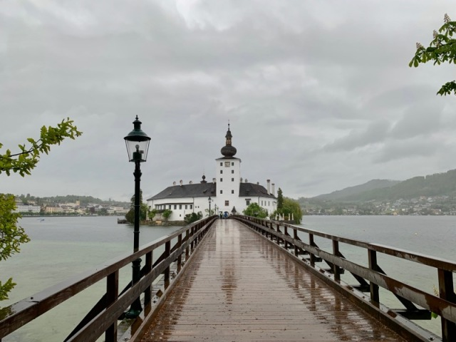 グムンデン トラウン湖 オーストリア