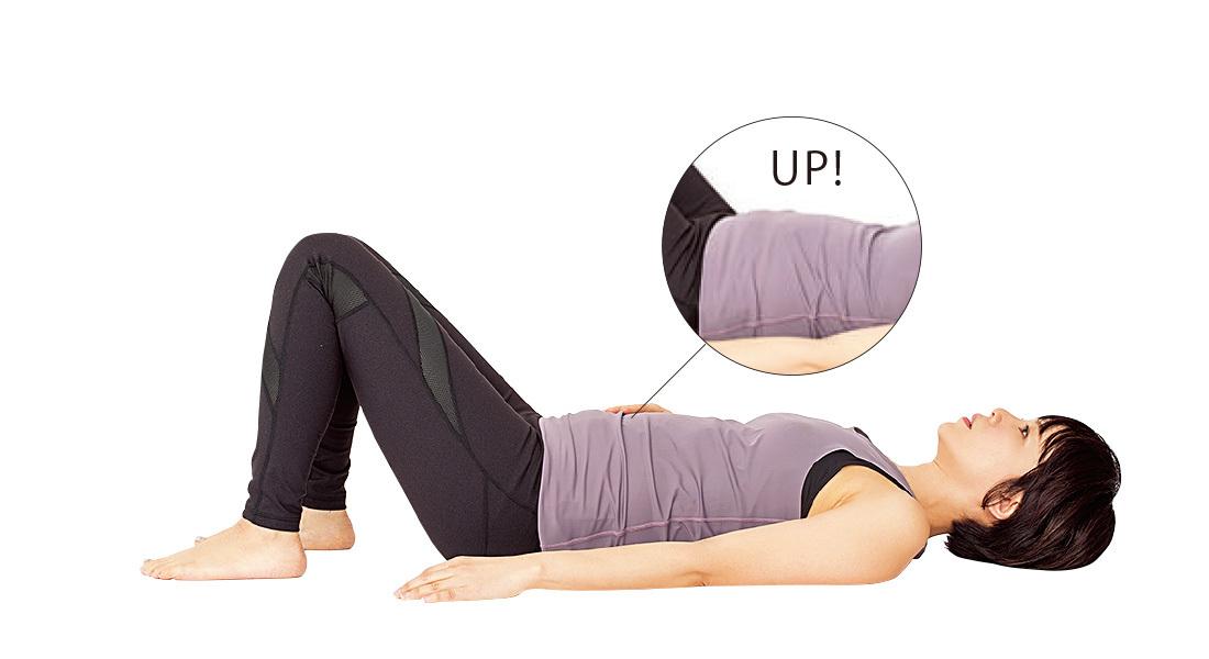下垂した内臓を引き上げる!腹式呼吸で瘦せやすい体に【2度と太る気がしないダイエット】_1_3-1