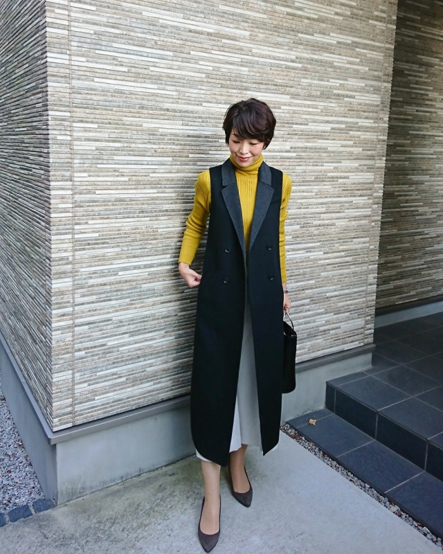 Tops:SHARE PARK/Outer・Bottoms:BANANA REPUBLIC
