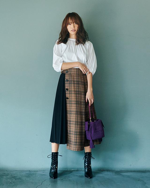 ちょっぴり大人に進化したジャスグリッティーなら見つかる 「スカート上手」になれる、秋の5着_1_2
