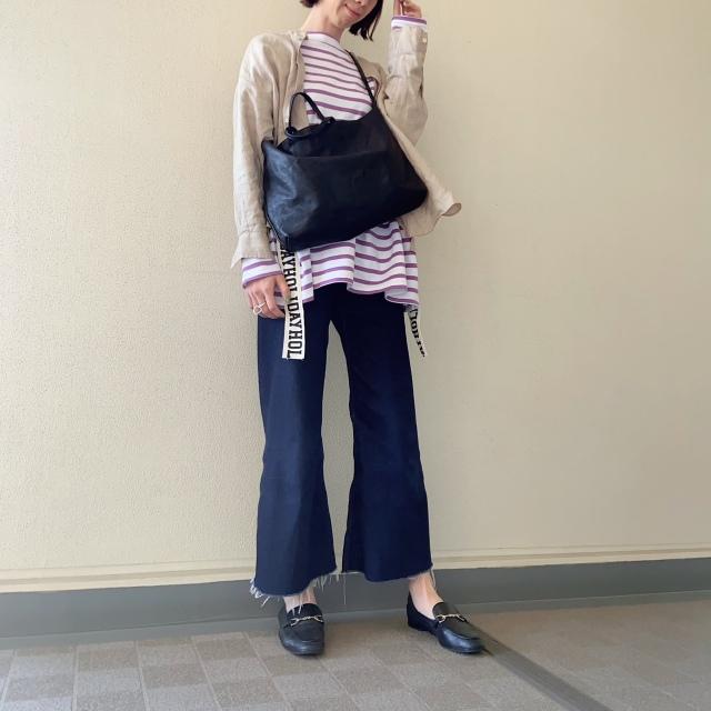 ミニマルなキャップでコーデを旬顔に❤︎【40代のミニマルファッション】_1_3