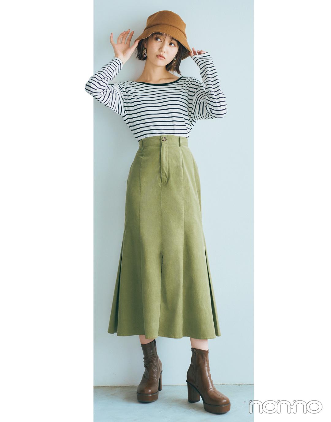 松川菜々花のはきたい靴から考える、本日のコーデ。モデルカット2−1