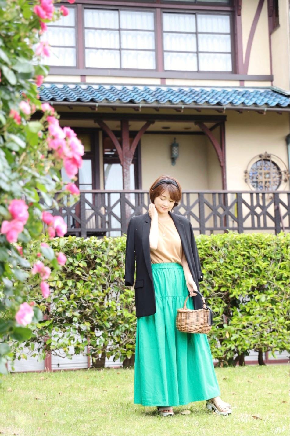 「きれい色マキシスカート」で瞬間着映え♪_1_1