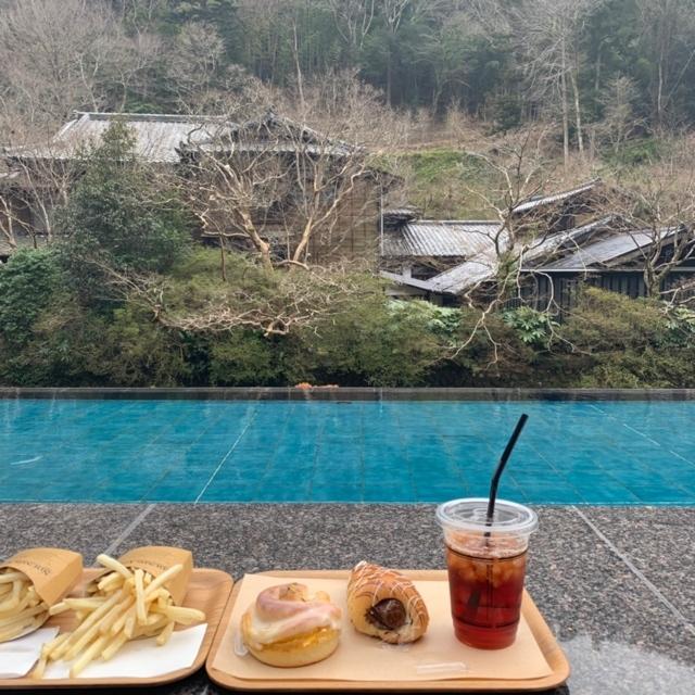 【 伊豆 】足湯に入りながら、パンが食べられる !_1_6