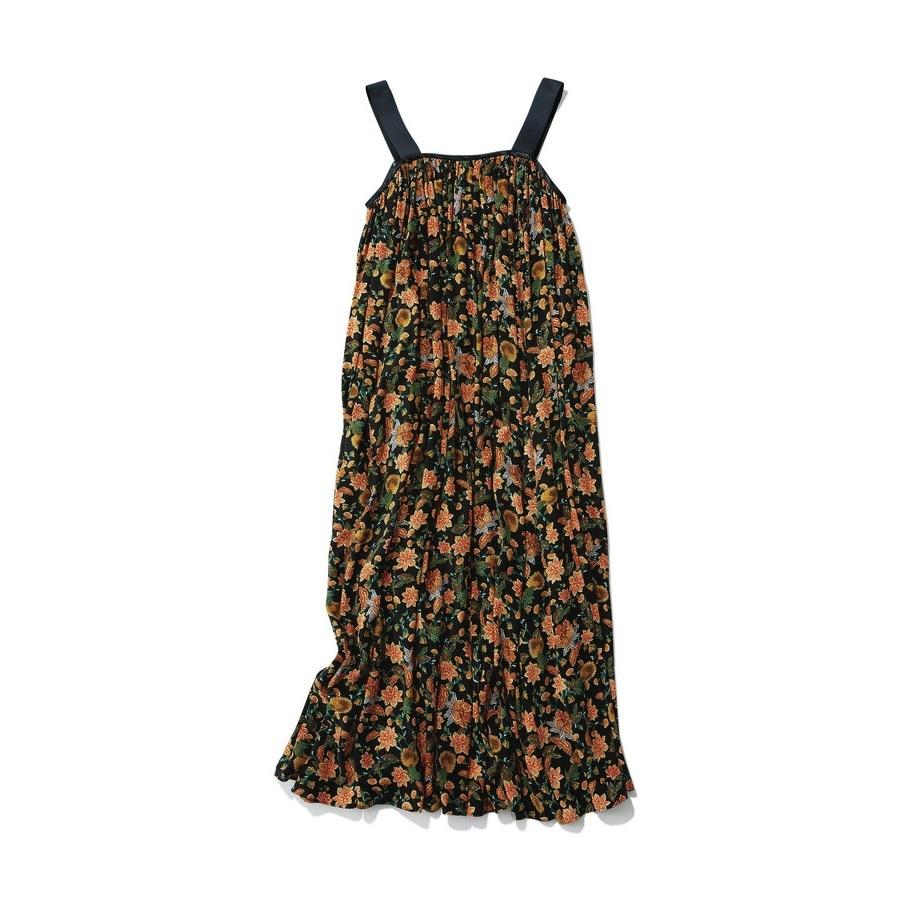 ファッション ボーメ×トゥモローランドの花柄ワンピース