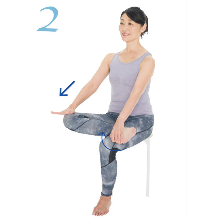 骨盤をしなやかにする方法2:骨盤調整エクササイズのやり方2