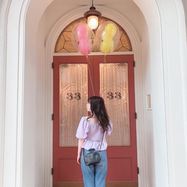 【 TokyoDisneyland 】風船が 、可愛いすぎる!_1_4-2