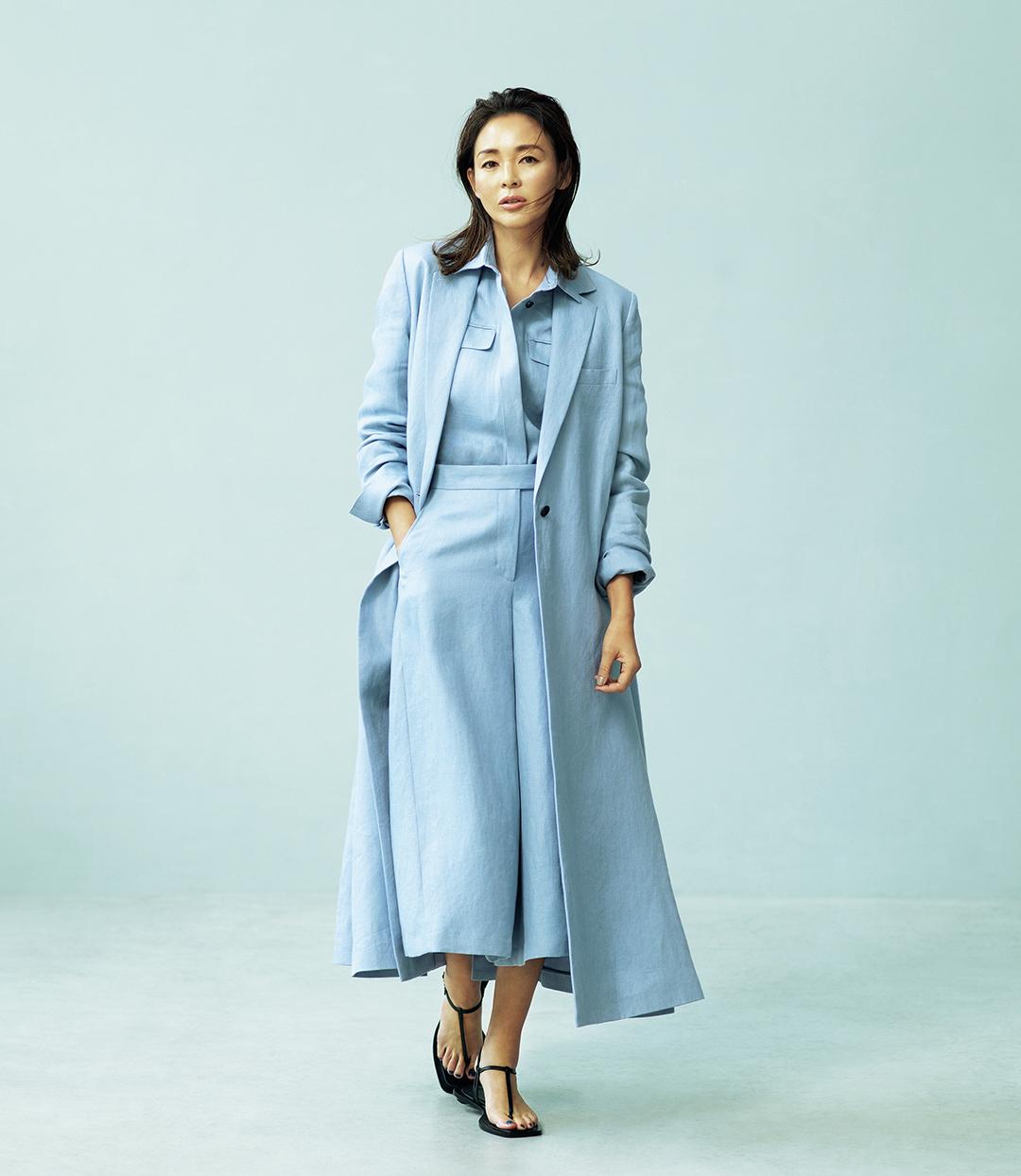 SHIHOが着るebureの自然体で着映える服_1
