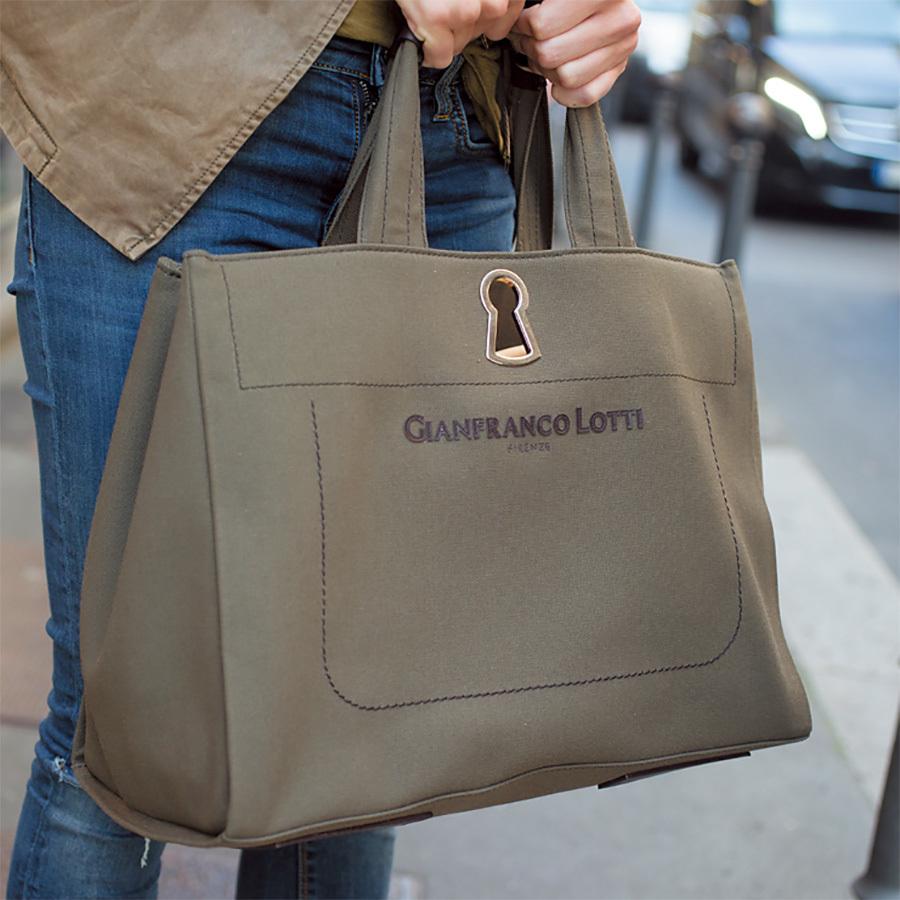 仕事用はカーキの大バッグ、遊び用はハイブランドのちびバッグが人気!【ファッションSNAP ミラノ・パリ編】_1_1