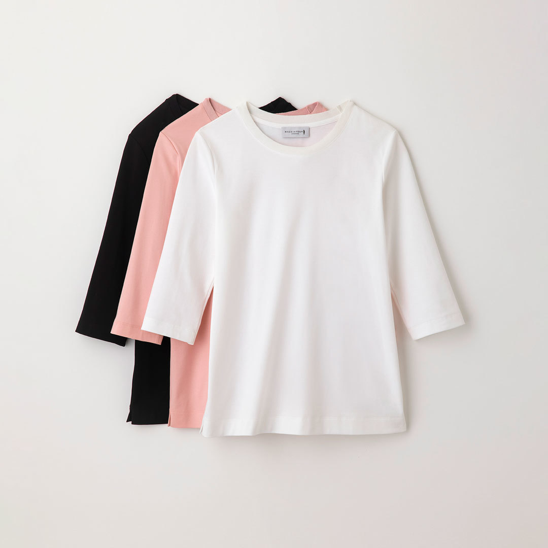 「マッキントッシュ ロンドン」の「SUPER FINE LAB. (スーパーファインラボ)」Tシャツ