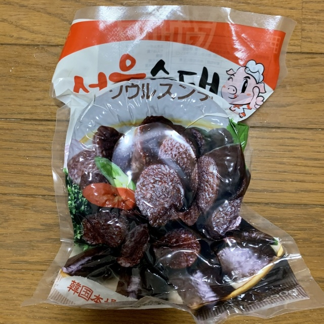 新大久保 韓国 食材 スンデ