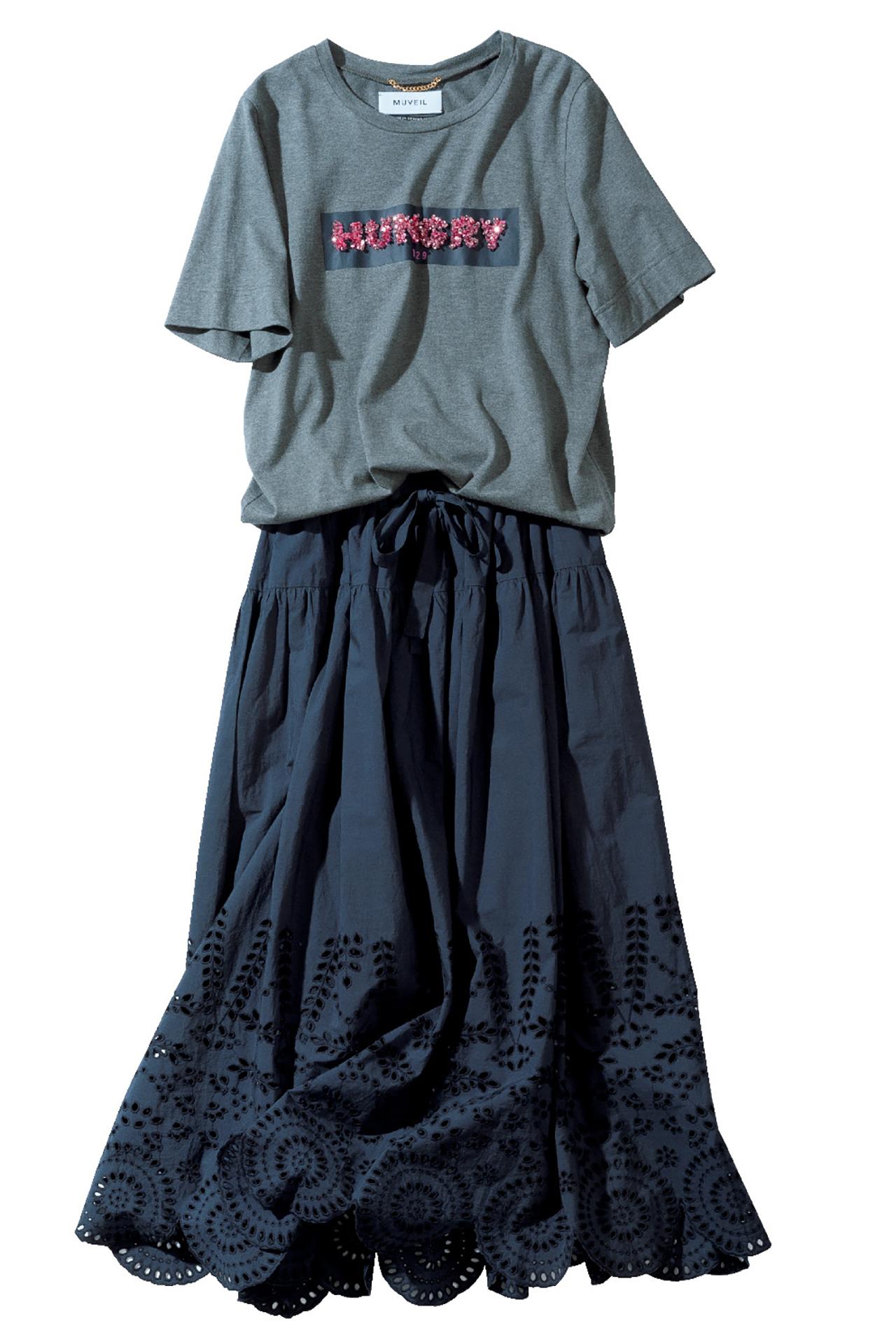エクラ世代が安心して着られる! 特選ブランドのTシャツでお出かけを 五選_1_1-5